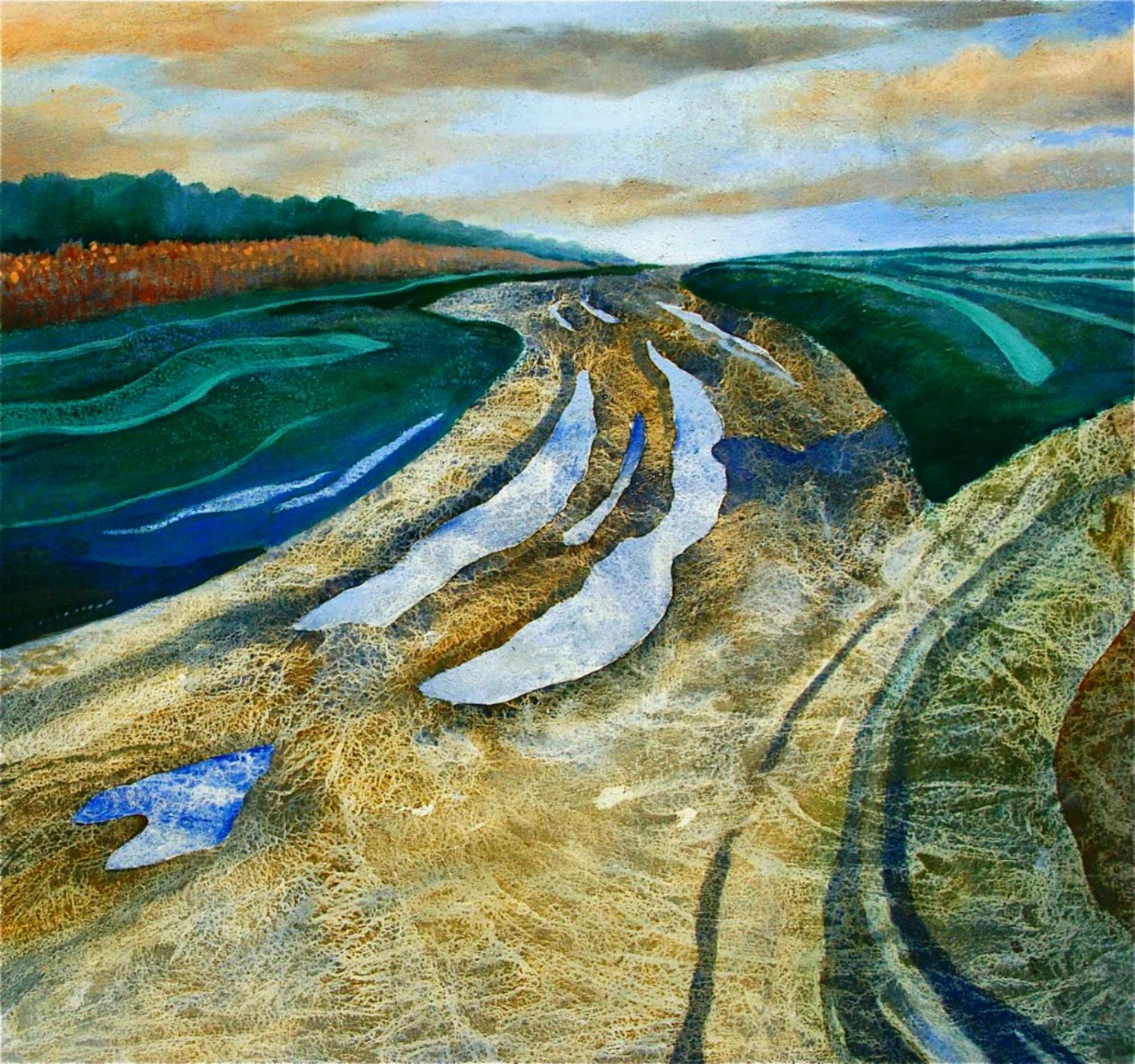 Zand, modder